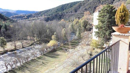Hotel-balneari Sant Vicenc: Rio Segre a su paso por el Balneario T