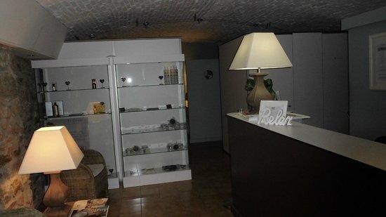 Hotel-balneari Sant Vicenc : Recepcion para servicos termales