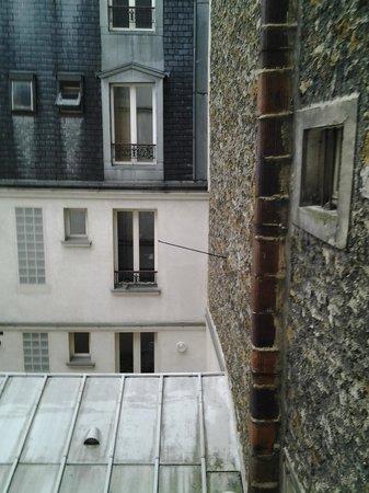 Istria: Вид из нашего номера во внутренний двор