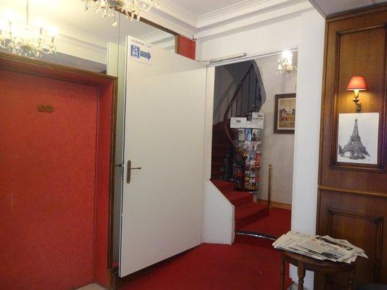 Hotel du Bresil : Área da recepção