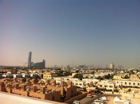 Premier Inn Dubai International Airport Hotel: From the roof
