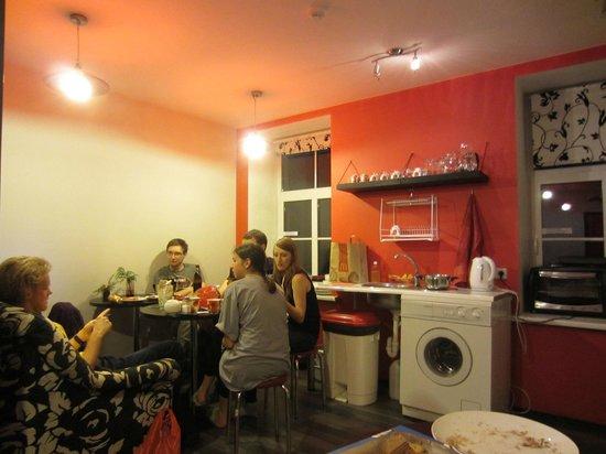 Riga Style Hostel : Кухня