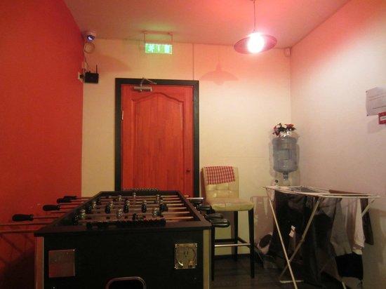 Riga Style Hostel : Настольный футбол
