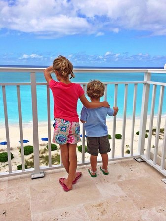 The Venetian on Grace Bay: Saying Goodbye on our last day.