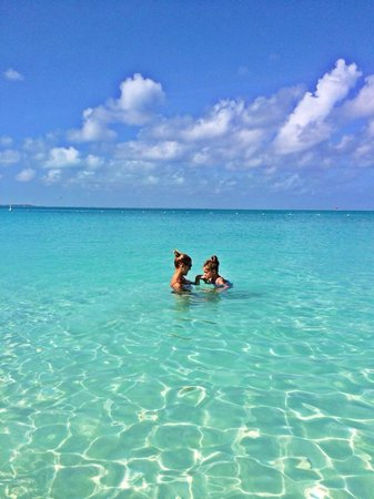 The Venetian on Grace Bay: The crystal clear waters of Grace Bay Beach right out in front of the Venetian