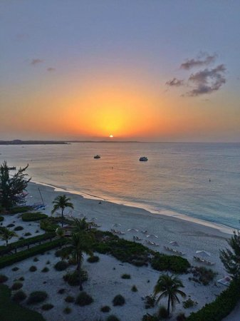 The Venetian on Grace Bay: Another amazing Grace Bay sunset