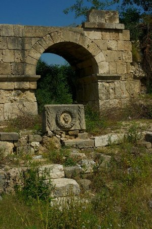 Charioteer Locker Room Area - Picture of Roman Hippodrome ...