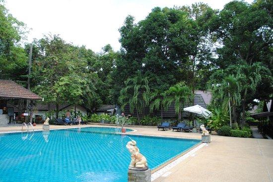 Royal Orchid Resort: Бассейн около номера