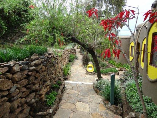 Mara Serena Safari Lodge: pad naar de kamers