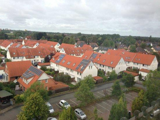 Mercure Hotel Hannover Oldenburger Allee: вид из окна