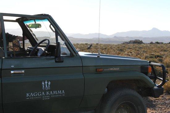 Kagga Kamma Nature Reserve: The Game-verhicule