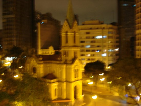 Plaza Hotel: Vista da minha janela