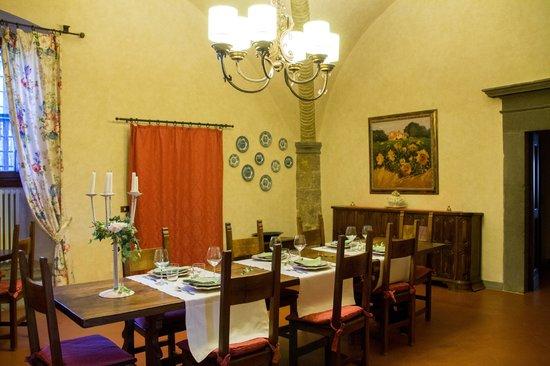 La Canonica di Cortine : Dining Room