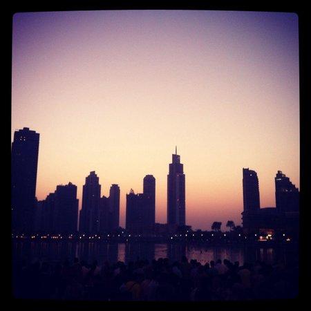 Premier Inn Dubai International Airport Hotel: Skyline