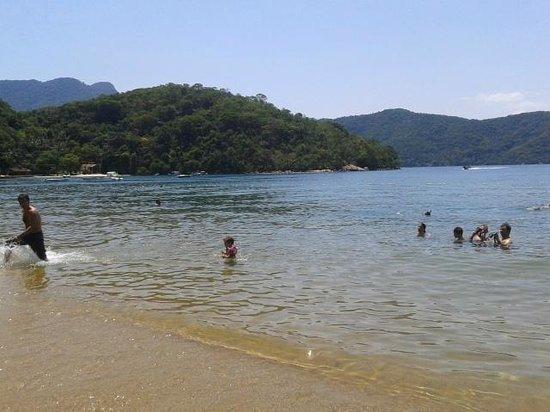 Abraaozinho Beach: Águas calmas