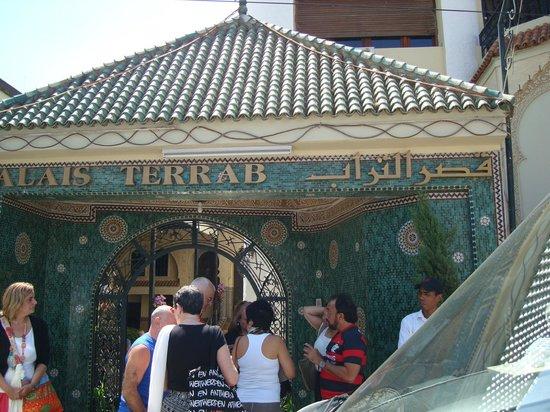 Palais Terrab em Meknes.
