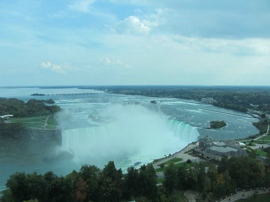 Fallsview Casino Resort: Horseshoe Falls from room