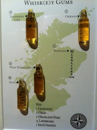 The Fat Duck: Whiskey course - not for us but clever all the same.
