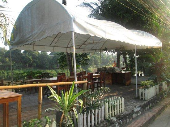 Villa Somphong: petit dej