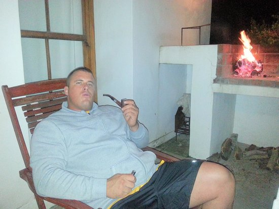 The Cottage Collection : Chill at the fire with my dads old pipe