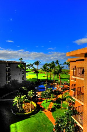 Kauhale Makai, Village by the Sea : Morning view from #603 in the Village by the Sea