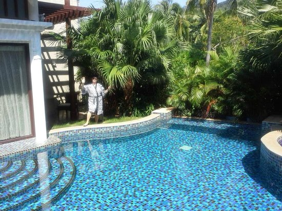 Banyan Tree Sanya: бассейн в вилле