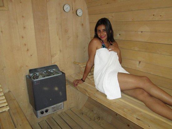 Hostal Aldea Del Elqui: Sauna