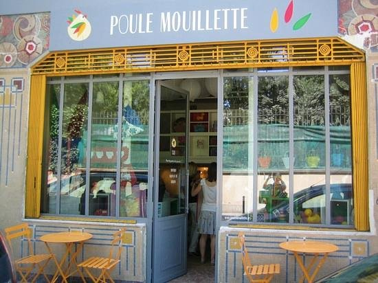 Poule mouillette paris canal saint martin restaurant for 560 salon grand junction