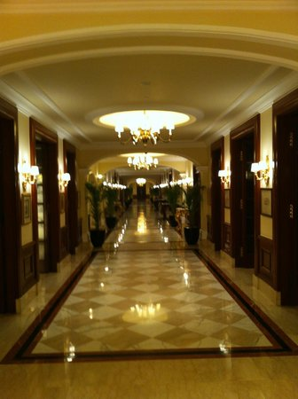 The Imperial Hotel: The splendid corridor