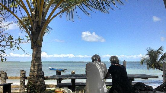 Morere: Restaurante Paraíso na Praia de Moreré
