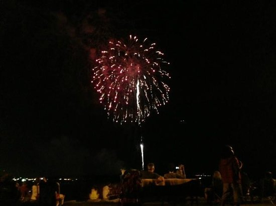 Old Town: Fireworks at Alexandria Birthday Celebration in July