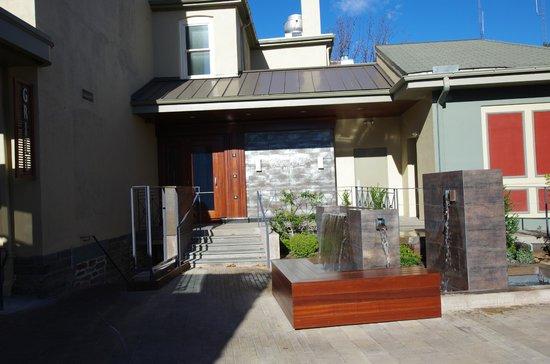 Chestnut Hill Hotel - Side/Rear Entrance