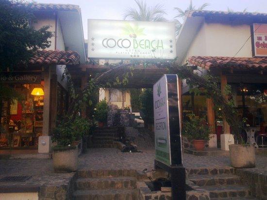Hotel Coco Beach & Casino: entrada