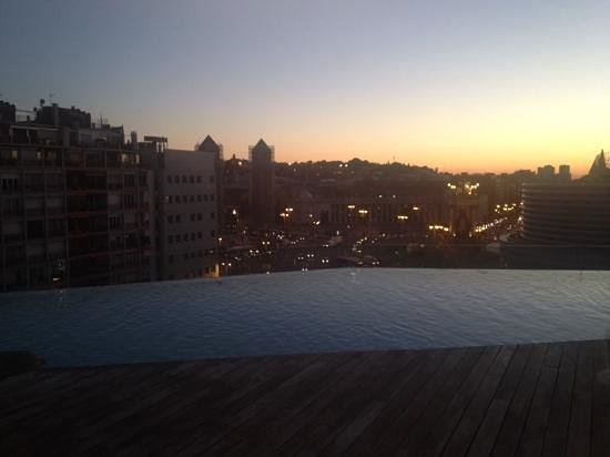 B-Hotel : view from rooftop