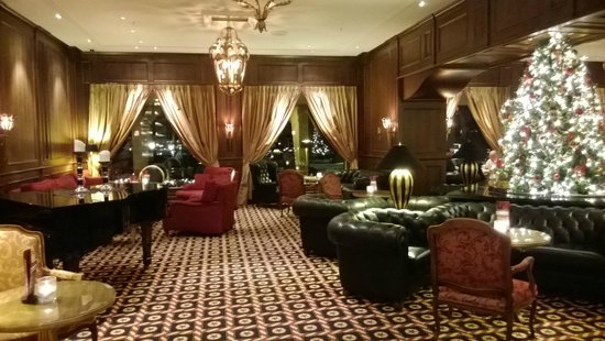 Grand Hotel Huis Ter Duin: The lobby with X-mas decoration