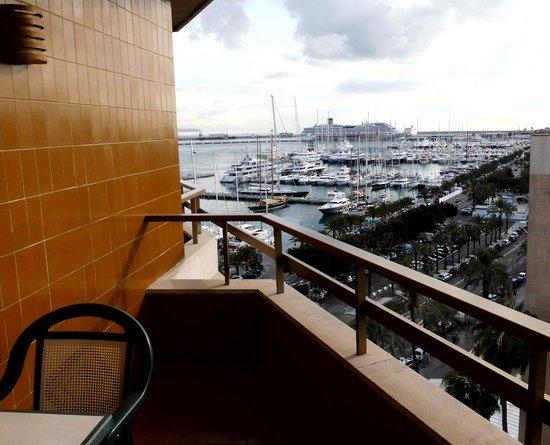 Melia Palas Atenea : Blick vom Balkon