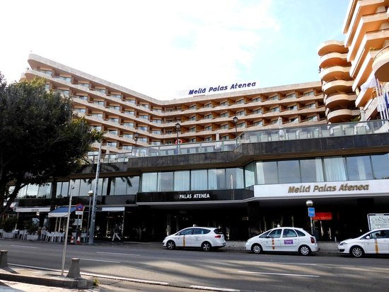 Melia Palas Atenea : Hotelansicht