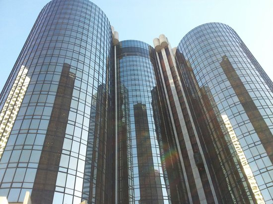 The Westin Bonaventure Hotel & Suites: View from the deck....