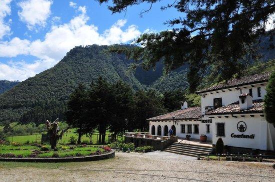 Hosteria Coconuco: entrance view