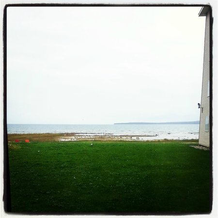 Holiday Inn Express St. Ignace-Lake Front : Room with a view