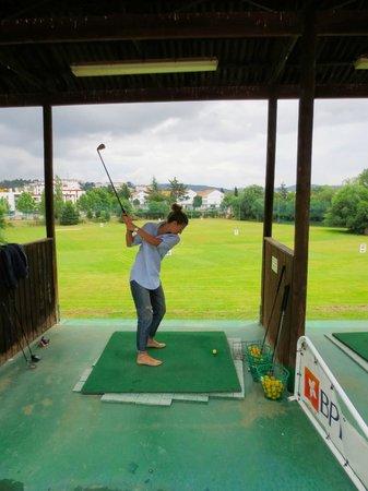Hotel Quinta das Lagrimas: Driving range