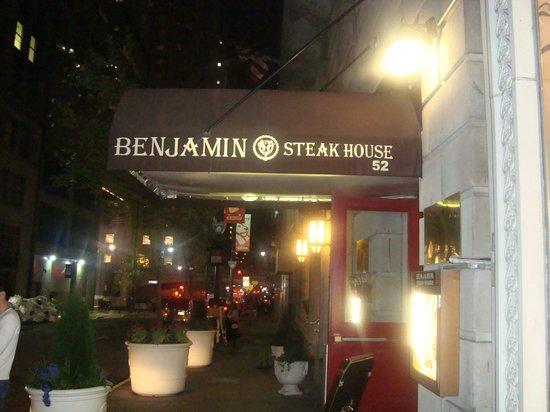 Dylan Hotel NYC: Benjamin Steak House, anexo ao Dylan Hotel