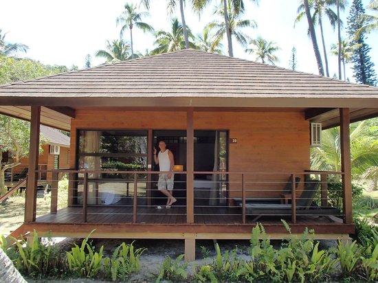 Oure Tera Beach Resort: bungalow vue mer