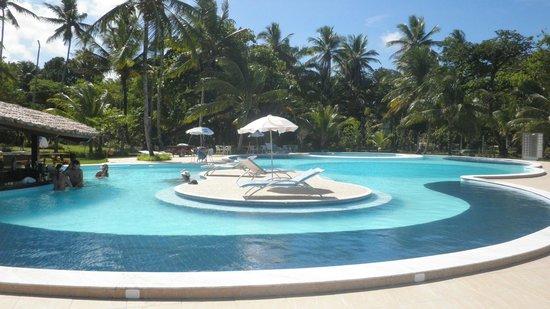 Karapitangui Praia Hotel: Piscinas Adulto e Infantil;