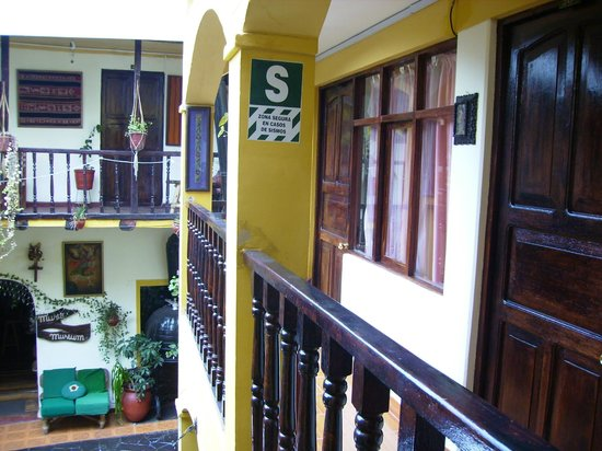 Hostal Cusi Wasi: Interior do Hostel