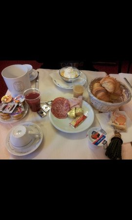 Hotel Villa Kinzica : breakfast
