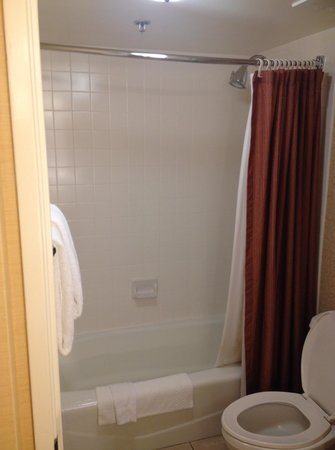 Courtyard Los Angeles Century City/Beverly Hills: Great shower - good pressure & hot