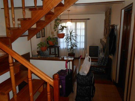 Iris Cocina | Vista De La Cocina Al Living Picture Of Cabanas Arco Iris San