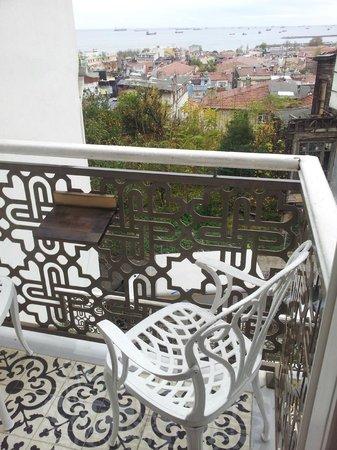 Ersari Hotel: Balcony