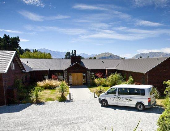 Mountain Range Boutique Lodge: Lodge entrance